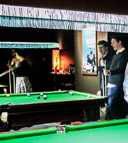 social functions action - pool & snooker hall