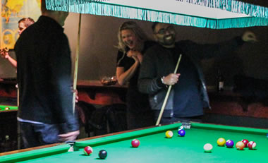 social functions – pool & snooker hall